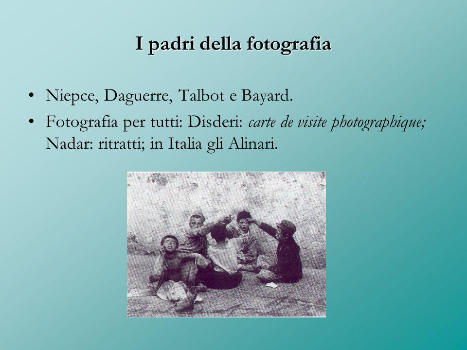 I padri della fotografia