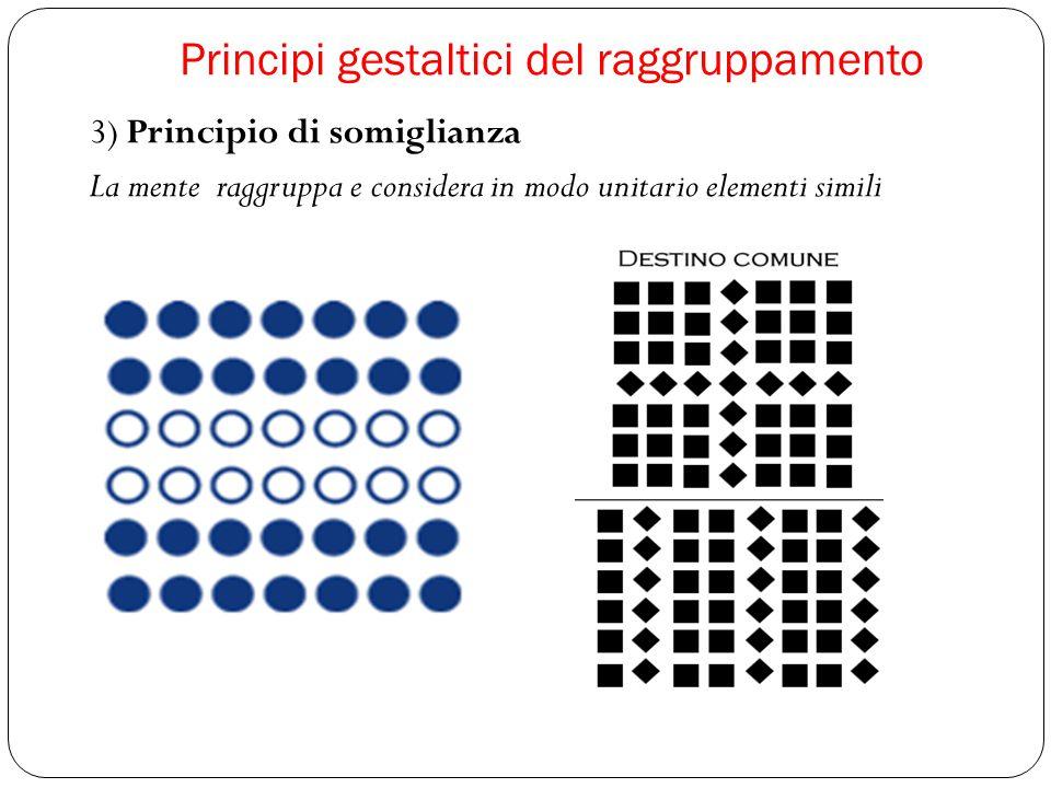 Principi gestaltici del raggruppamento