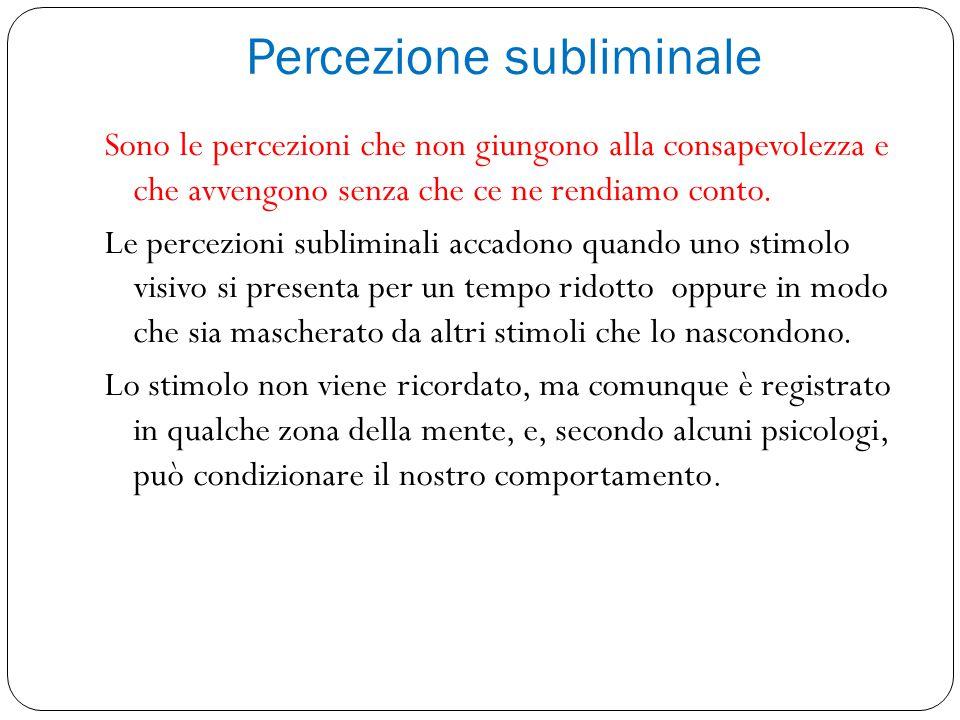 Percezione subliminale