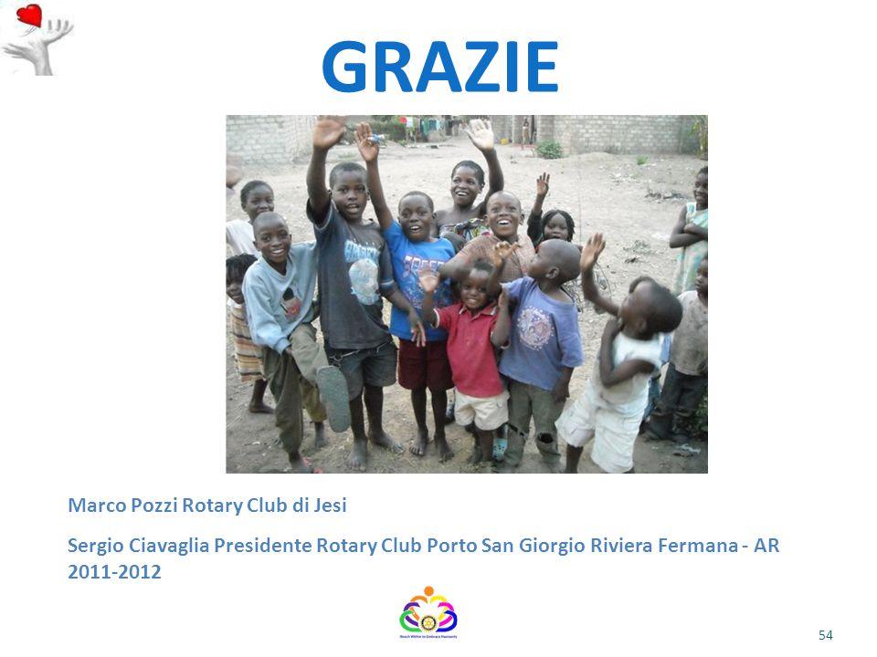 GRAZIE Marco Pozzi Rotary Club di Jesi
