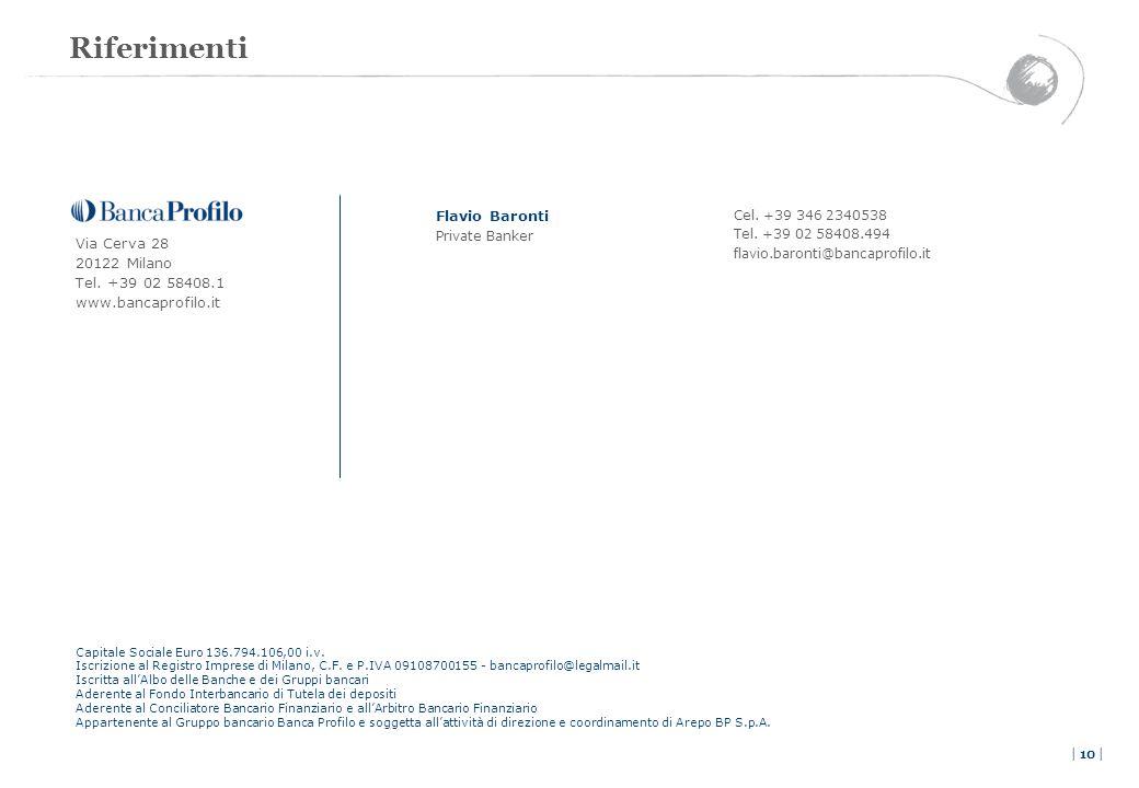 Riferimenti Flavio Baronti Via Cerva 28 20122 Milano