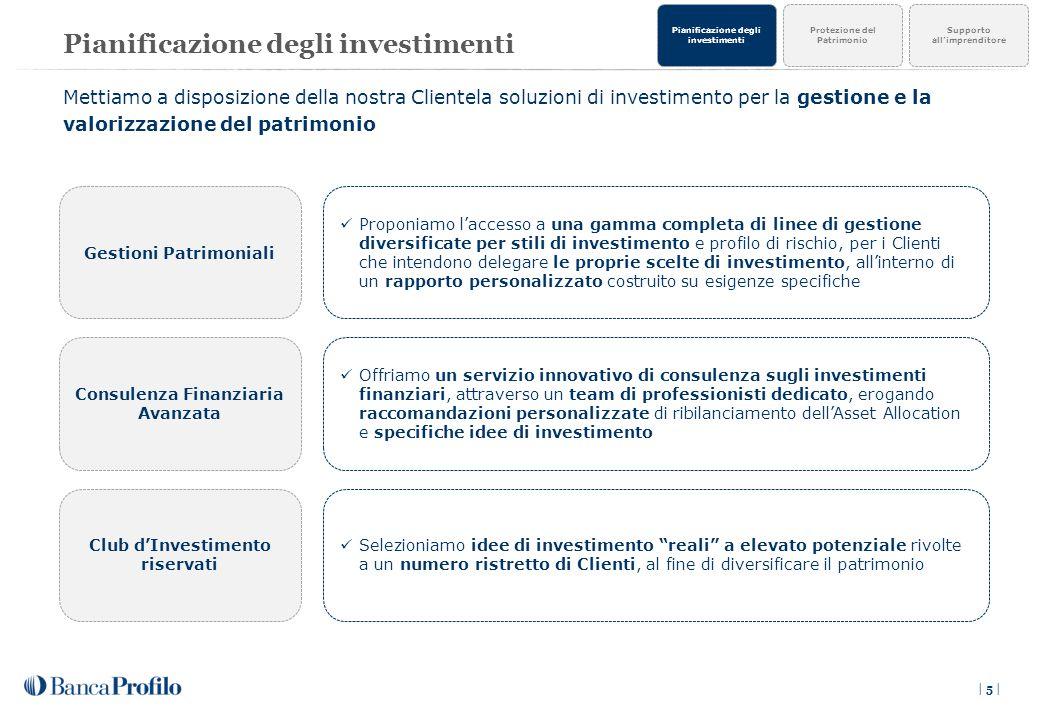 Pianificazione degli investimenti
