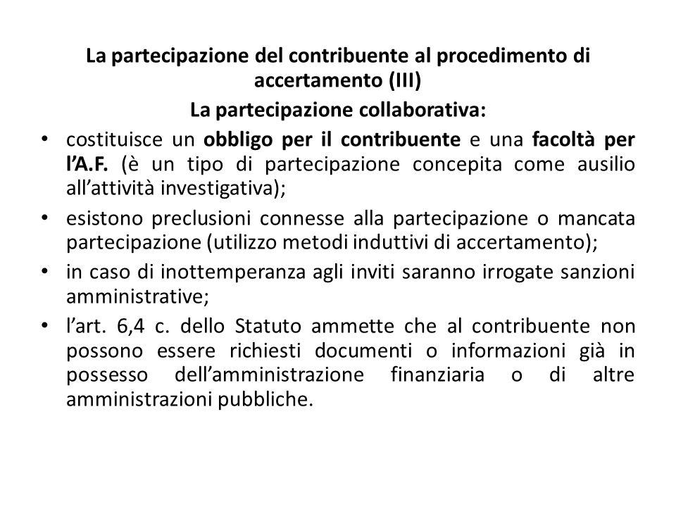 La partecipazione collaborativa: