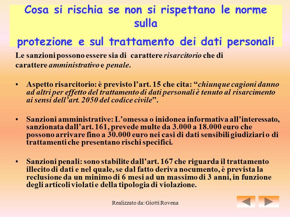Realizzato da: Giotti Rovena