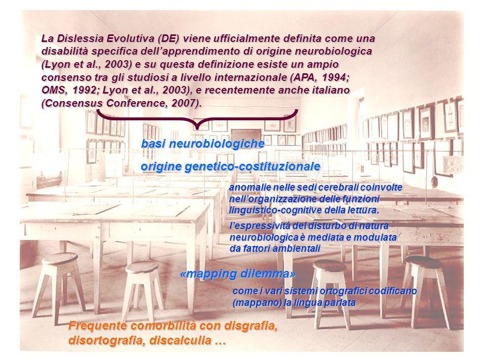 origine genetico-costituzionale
