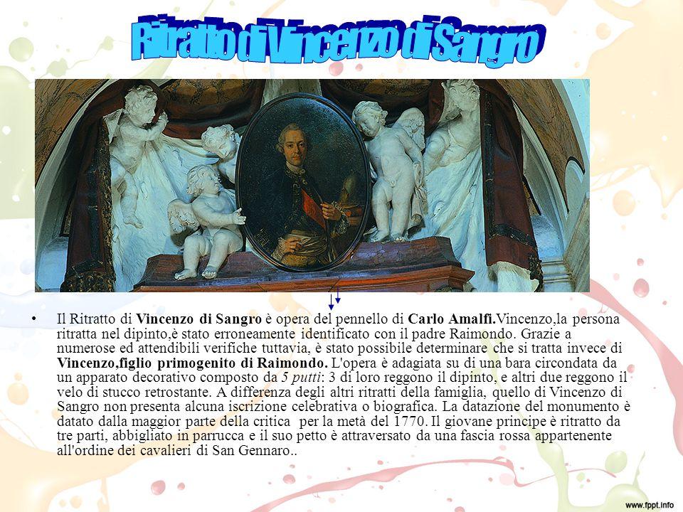 Ritratto di Vincenzo di Sangro