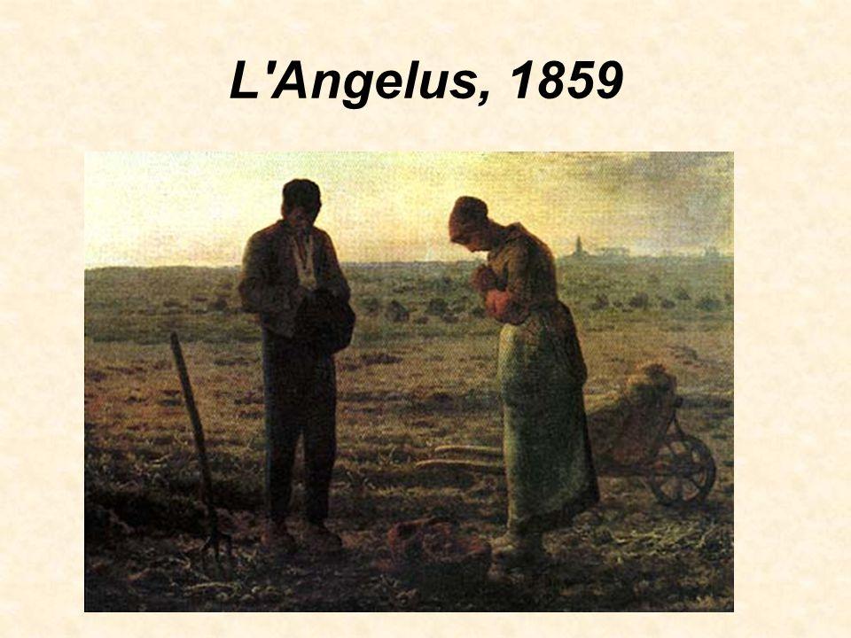 L Angelus, 1859