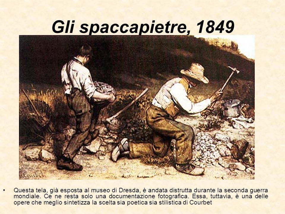 Gli spaccapietre, 1849