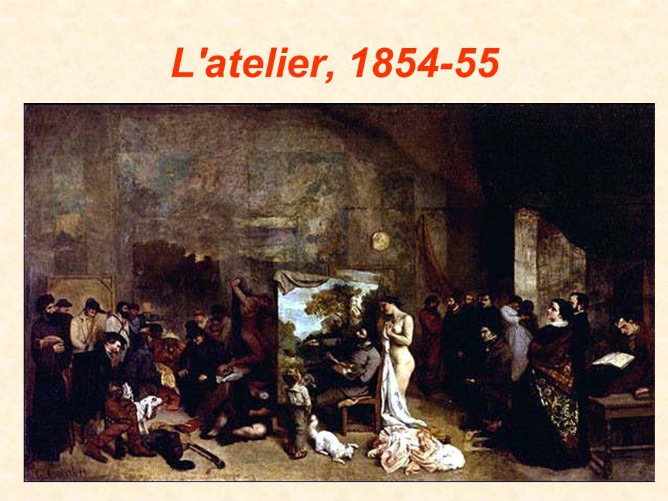 L atelier, 1854-55