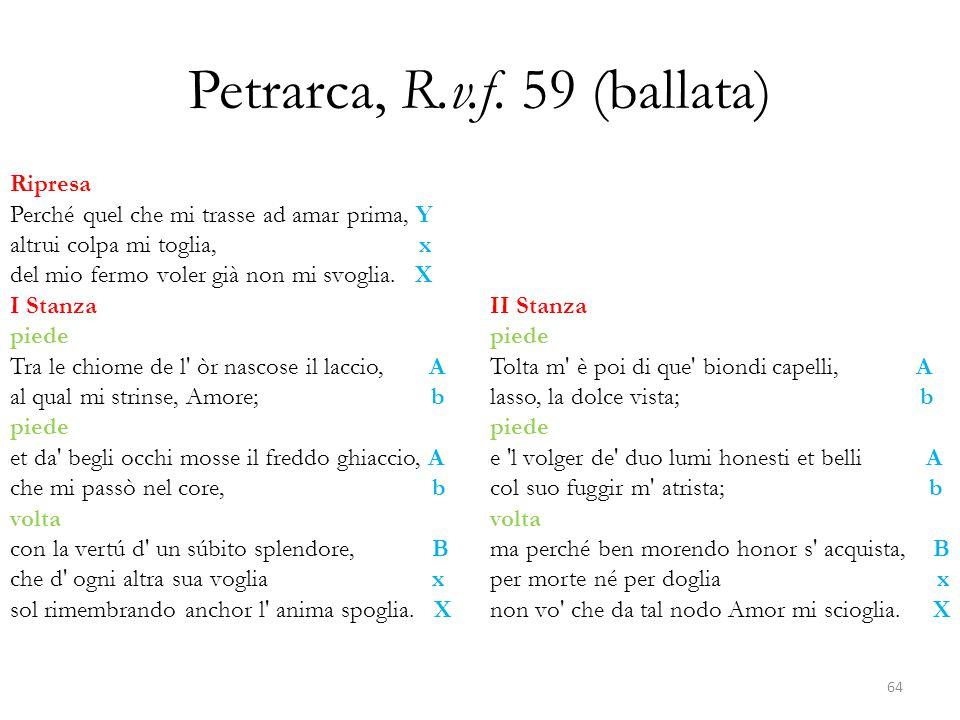 Petrarca, R.v.f. 59 (ballata)