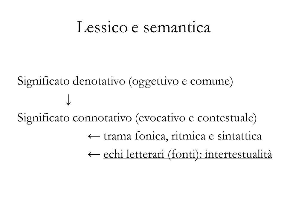 Lessico e semantica