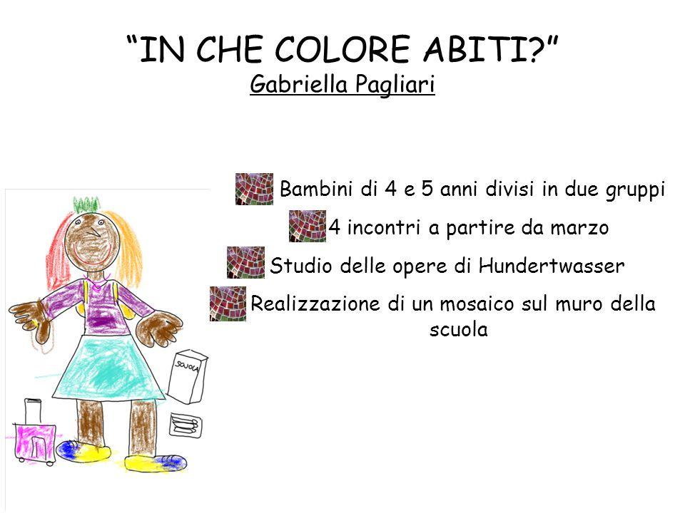 IN CHE COLORE ABITI Gabriella Pagliari