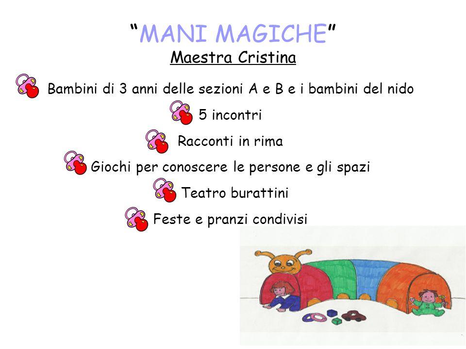MANI MAGICHE Maestra Cristina