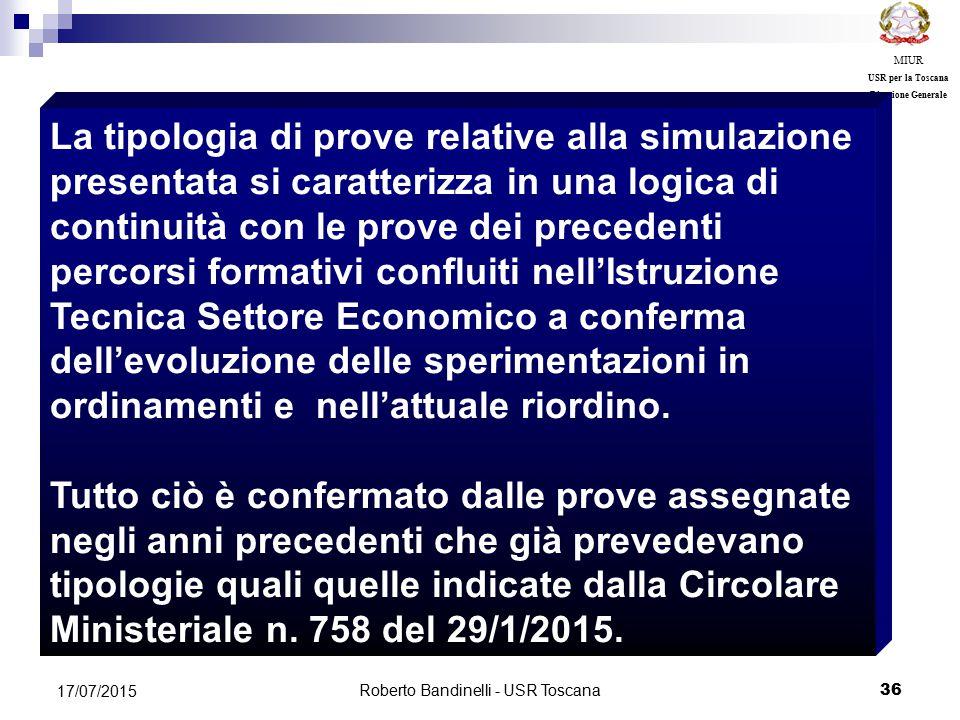 Roberto Bandinelli - USR Toscana