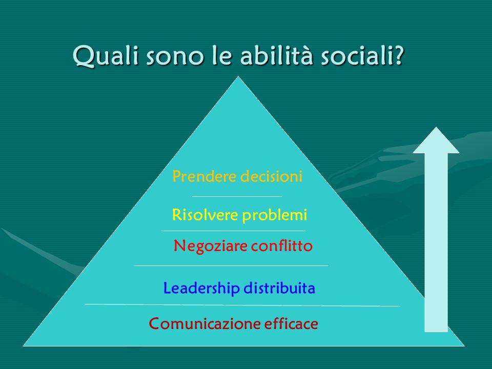 Quali sono le abilità sociali
