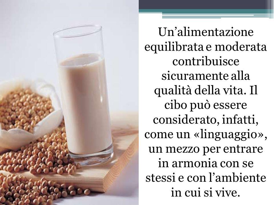 Un'alimentazione equilibrata e moderata contribuisce sicuramente alla qualità della vita.