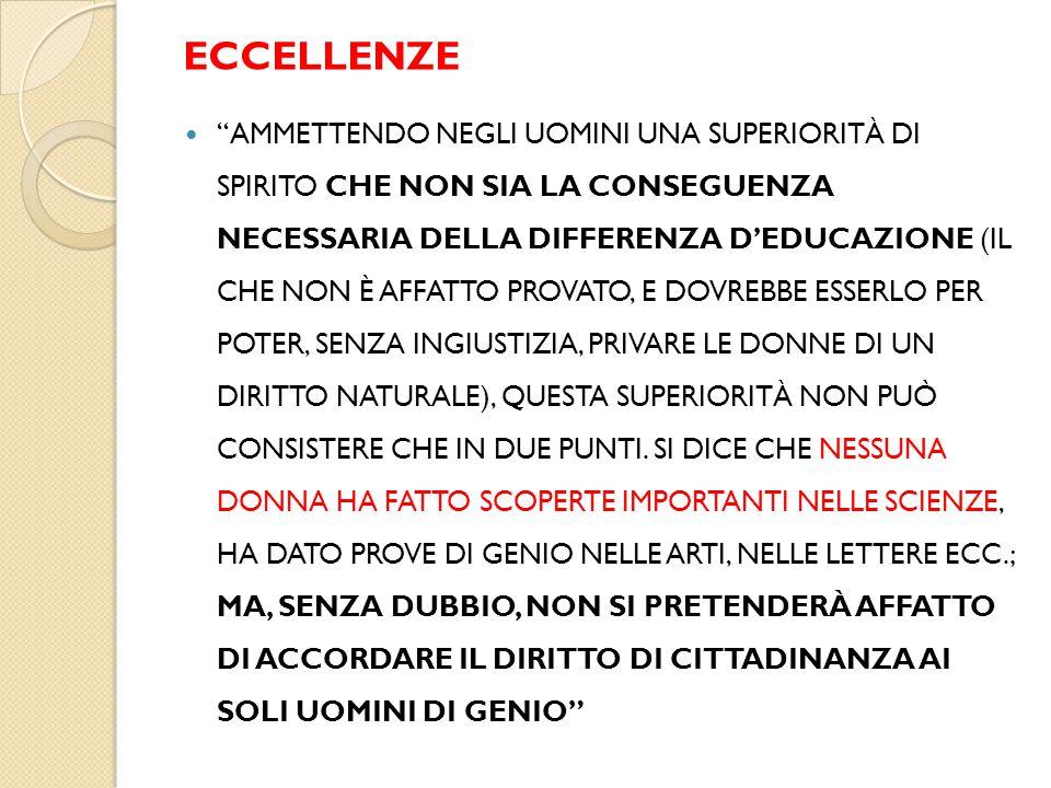 ECCELLENZE