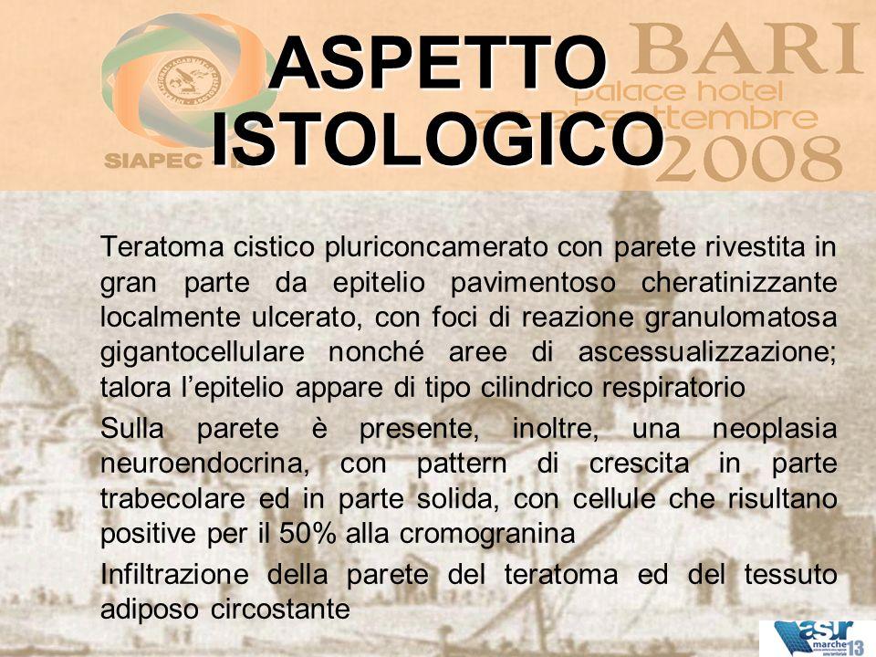 ASPETTO ISTOLOGICO.