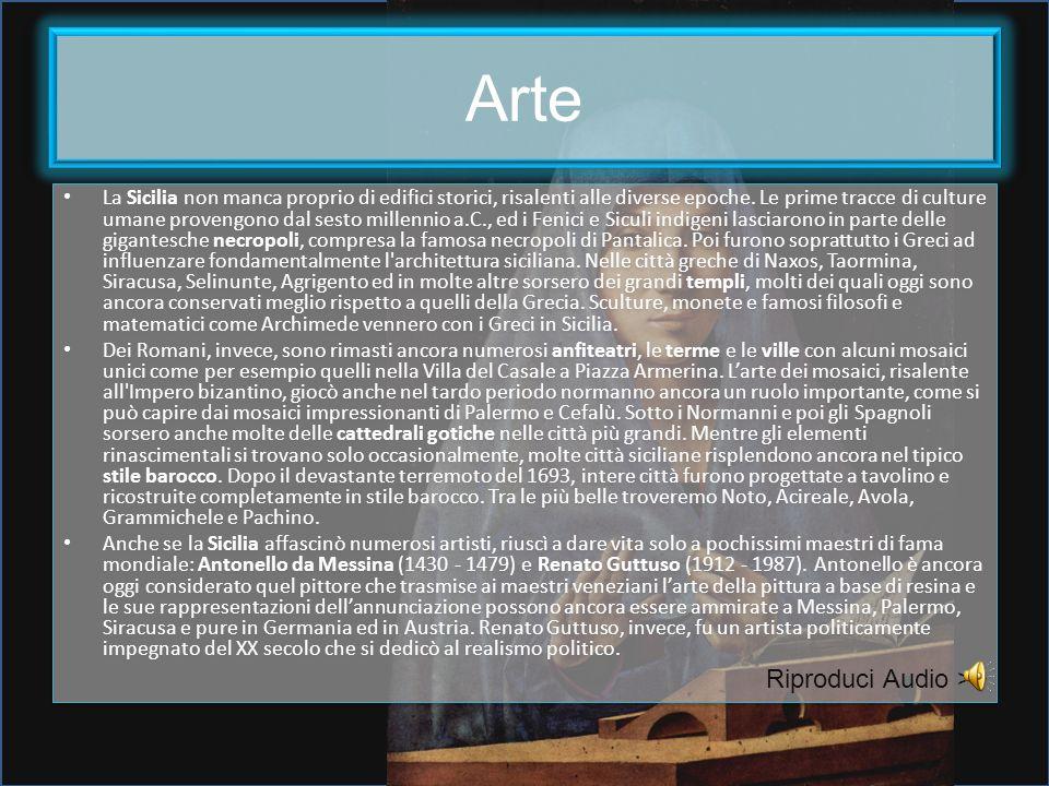 Arte Riproduci Audio >>
