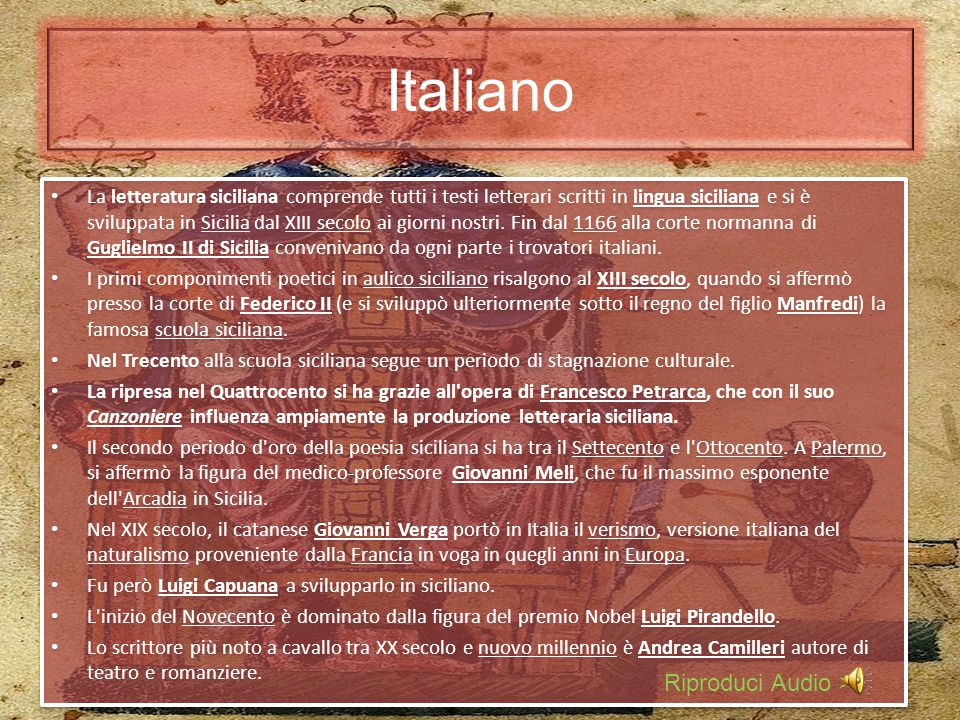 Italiano Riproduci Audio >>