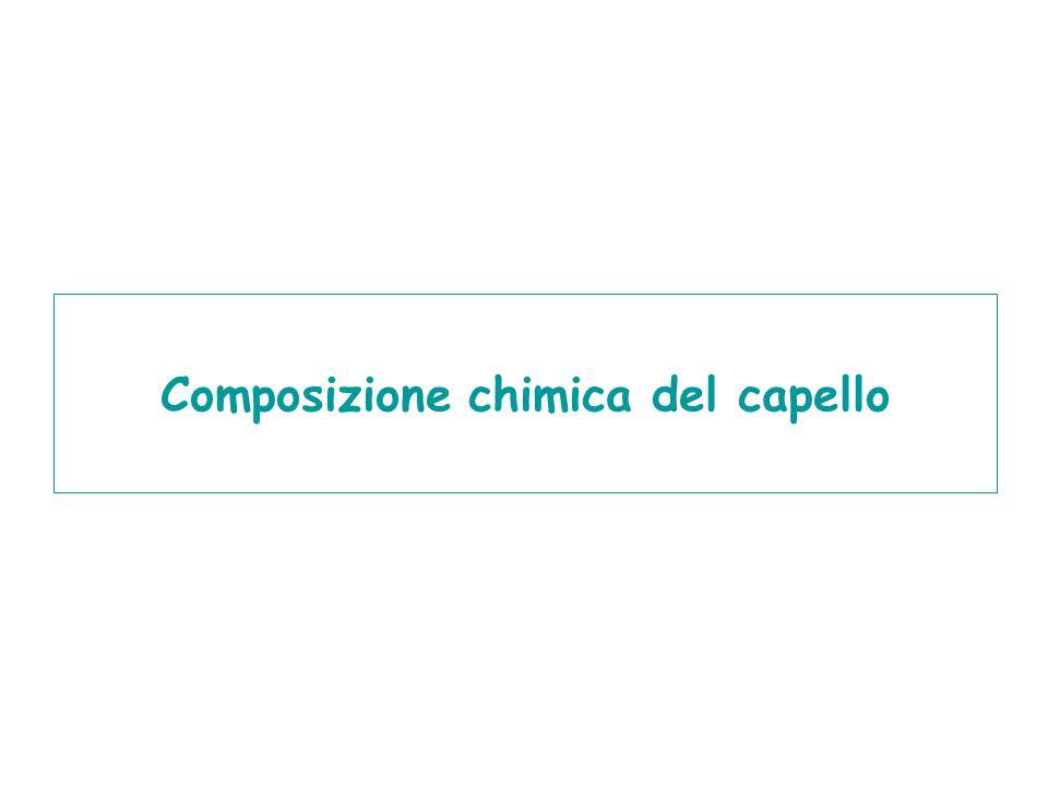 Composizione chimica del capello