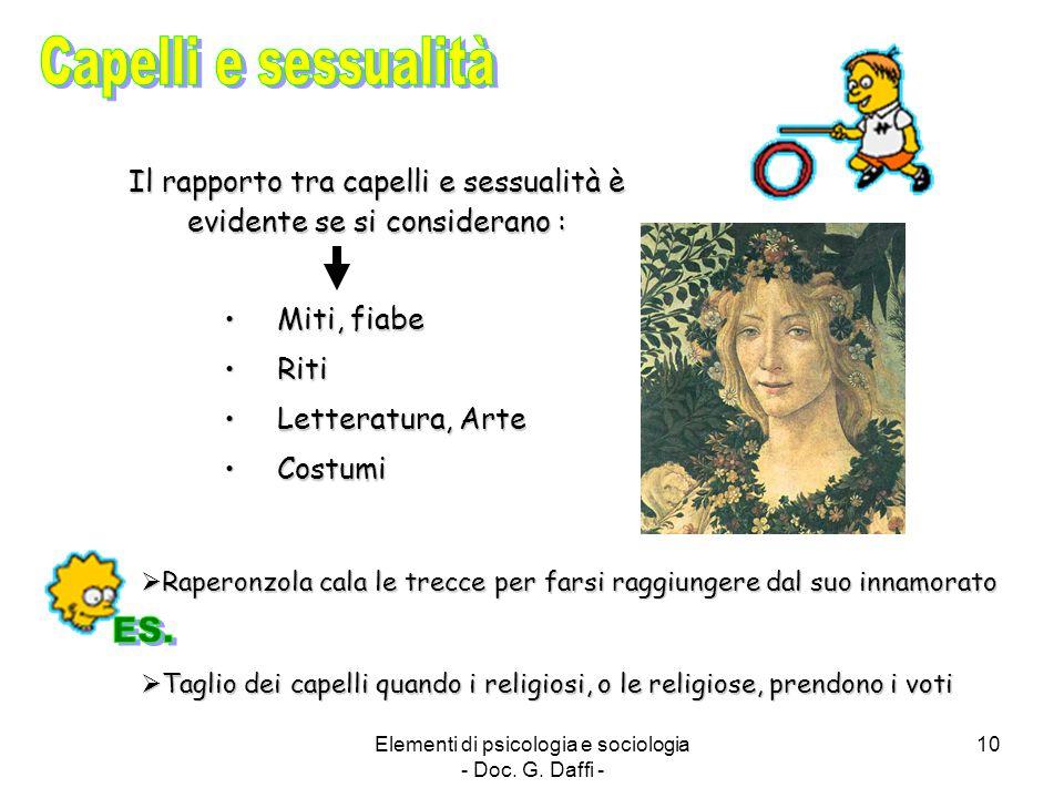 Capelli e sessualità ES.