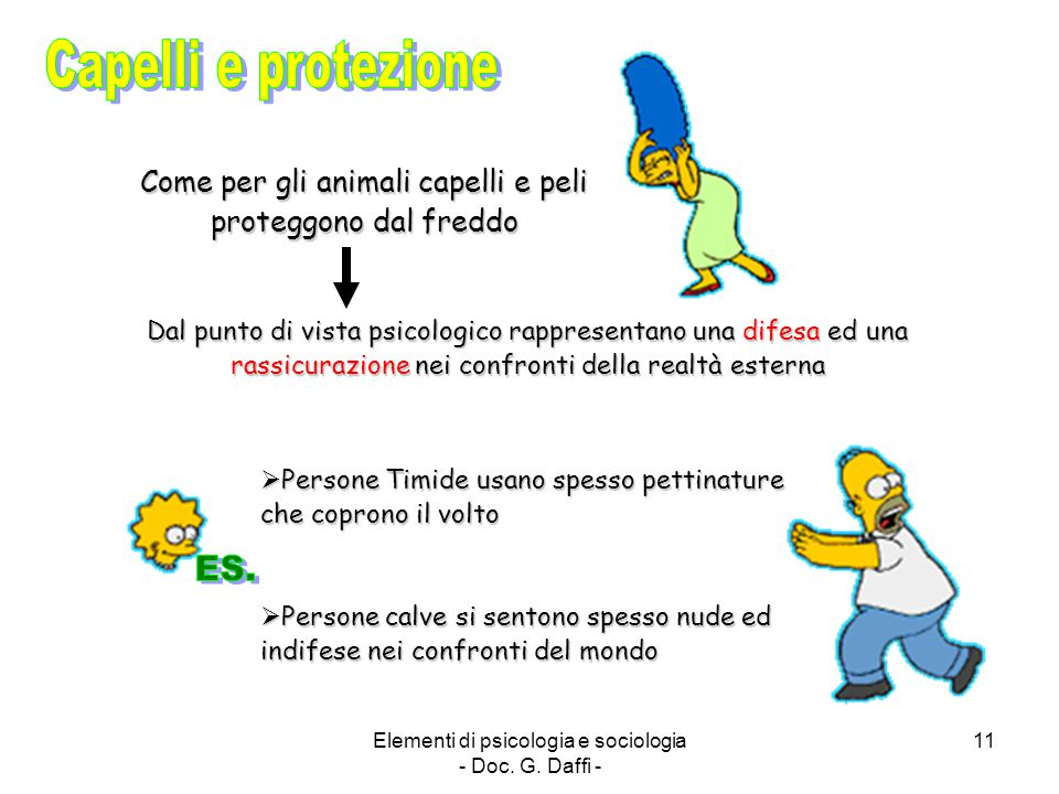 Capelli e protezione ES.