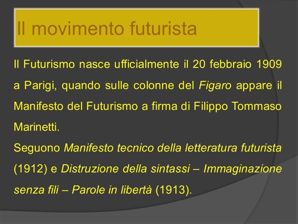 Il movimento futurista