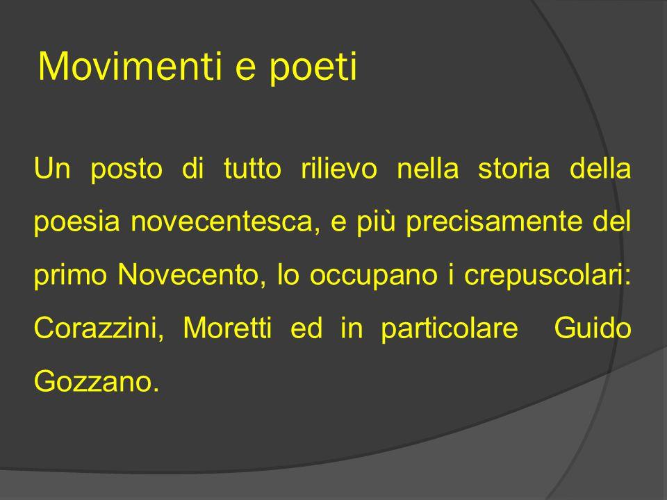 Movimenti e poeti