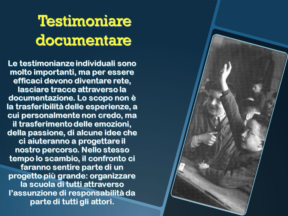 Testimoniare documentare