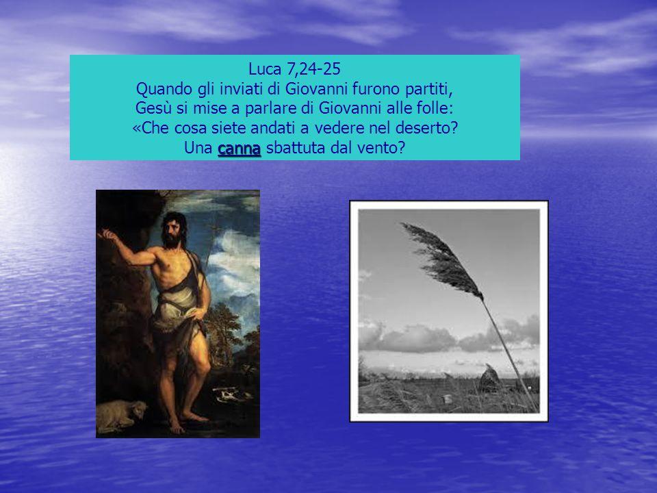 Quando gli inviati di Giovanni furono partiti,