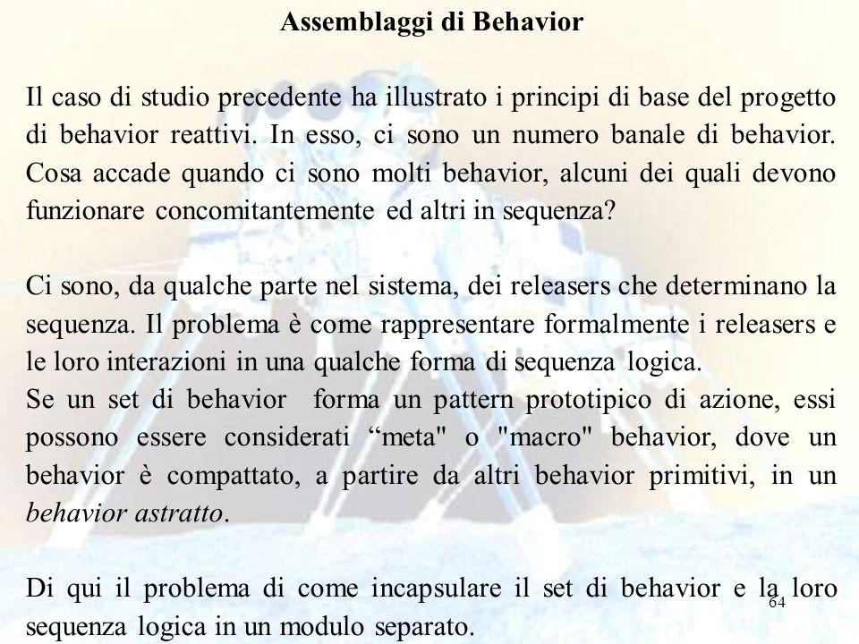 Assemblaggi di Behavior