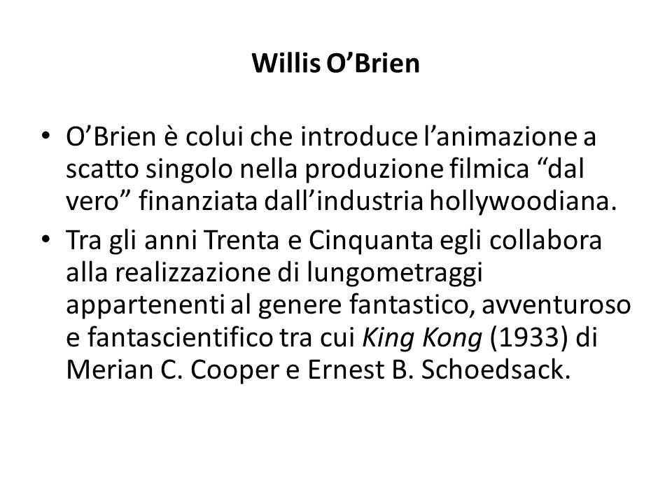 Willis O'Brien