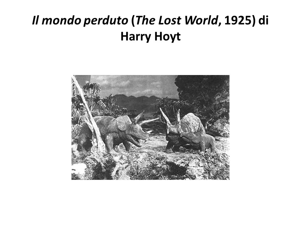 Il mondo perduto (The Lost World, 1925) di Harry Hoyt