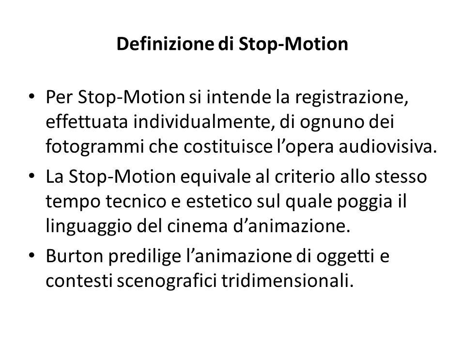Definizione di Stop-Motion