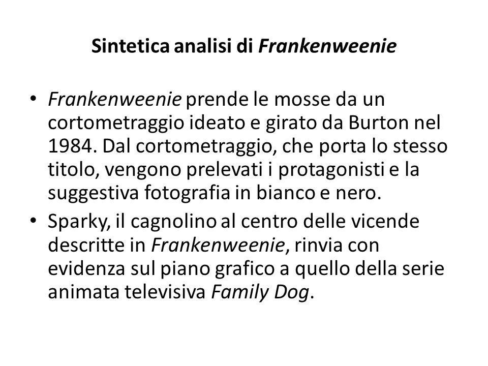 Sintetica analisi di Frankenweenie