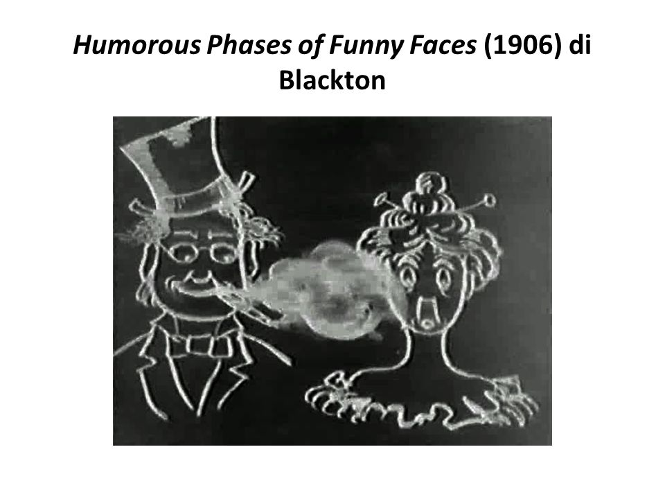 Humorous Phases of Funny Faces (1906) di Blackton