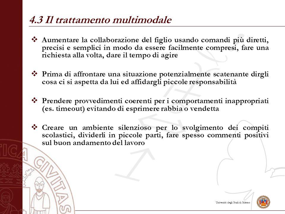 4.3 Il trattamento multimodale
