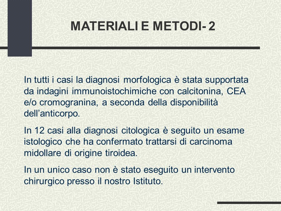 MATERIALI E METODI- 2