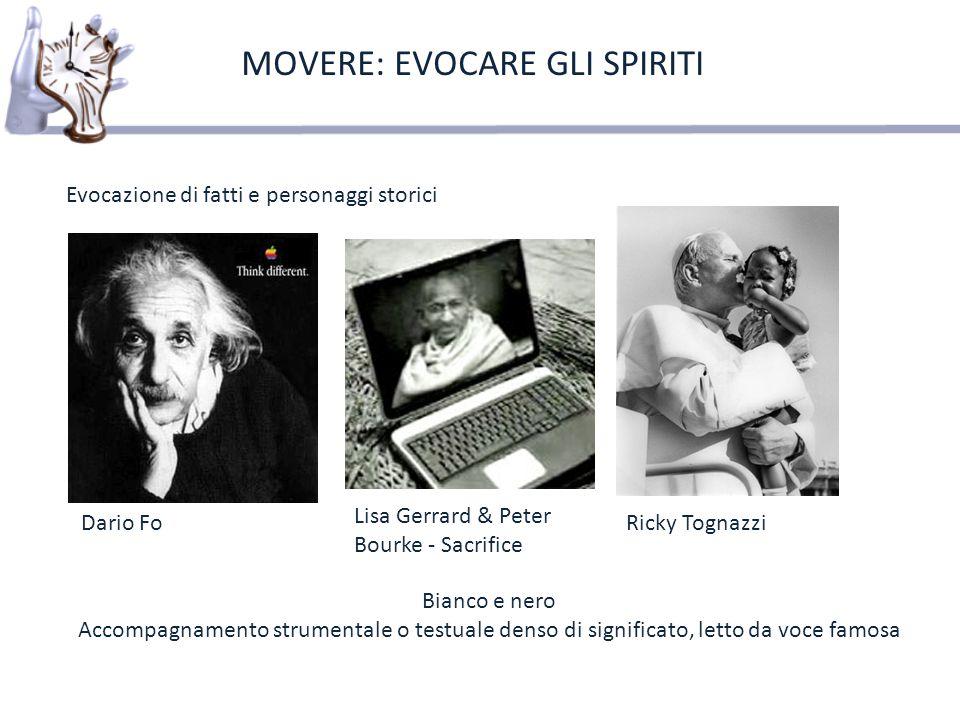 MOVERE: EVOCARE GLI SPIRITI