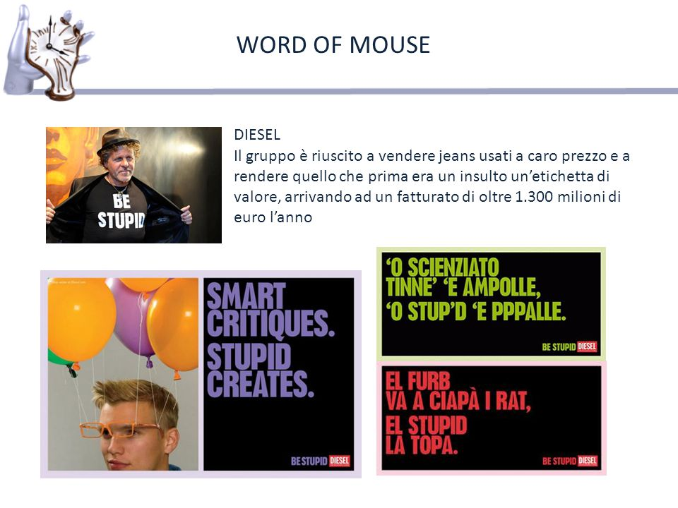 WORD OF MOUSE DIESEL.
