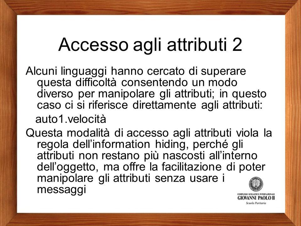 Accesso agli attributi 2
