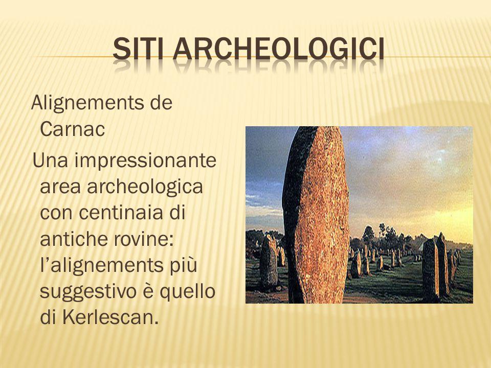 Siti archeologici Alignements de Carnac.