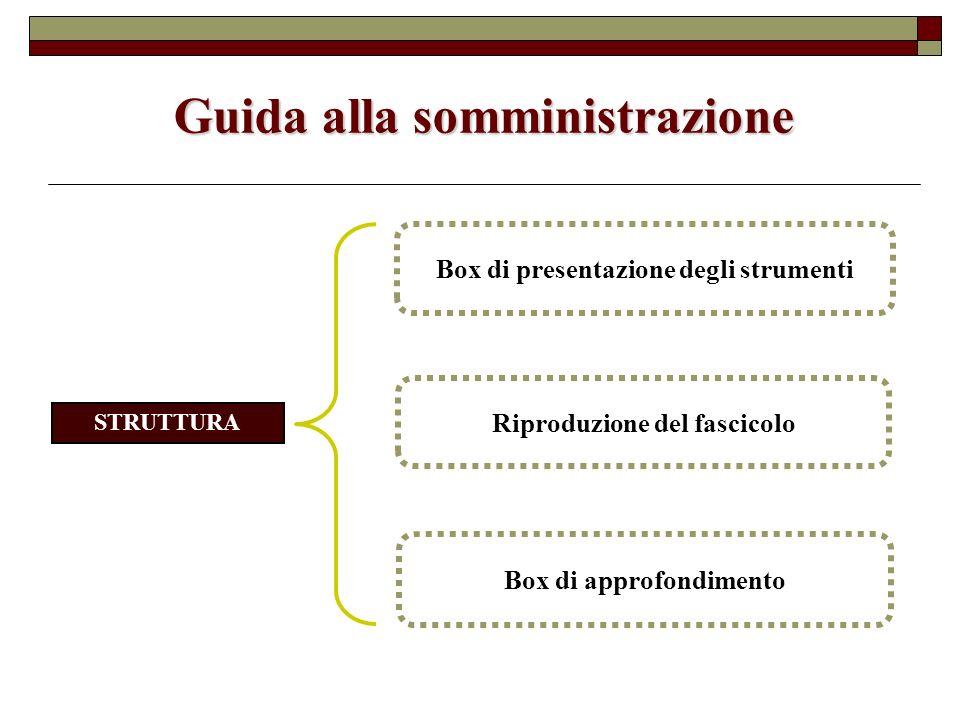 Guida alla somministrazione