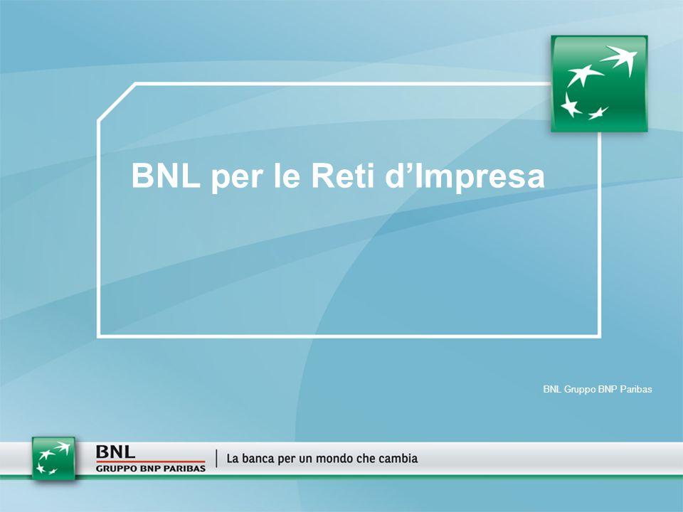BNL per le Reti d'Impresa