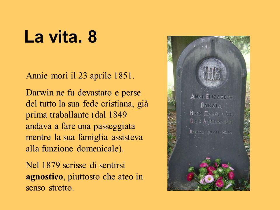 La vita. 8 Annie morì il 23 aprile 1851.