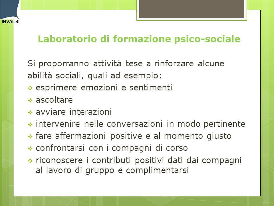 Laboratorio di formazione psico-sociale