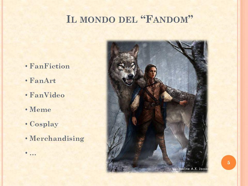 Il mondo del Fandom FanFiction FanArt FanVideo Meme Cosplay