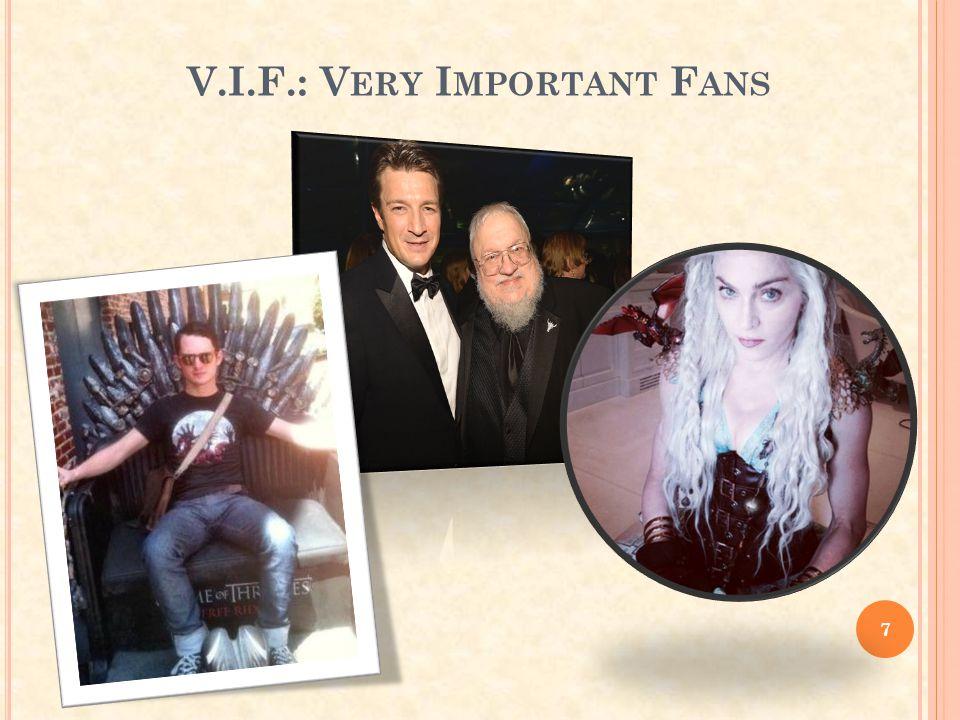 V.I.F.: Very Important Fans
