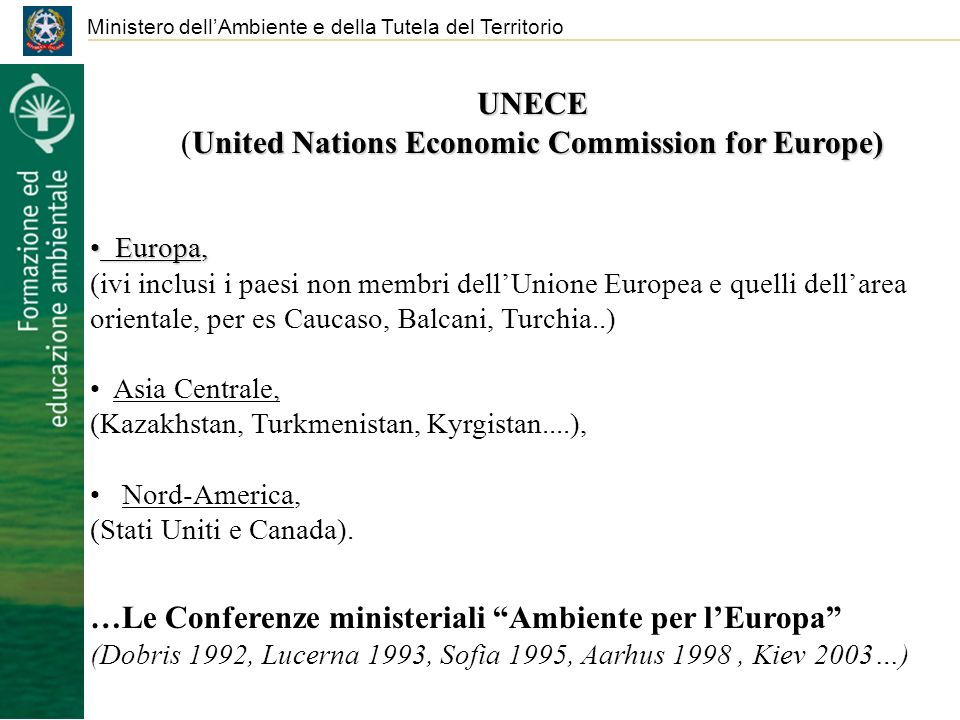 (United Nations Economic Commission for Europe)